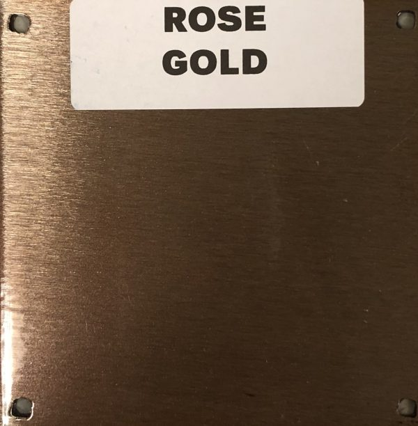 NEW ROSE GOLD