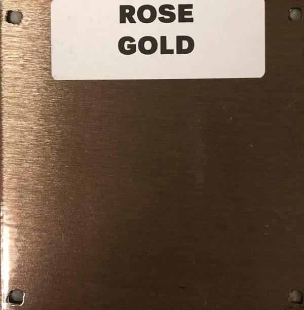 NEW ROSE GOLD