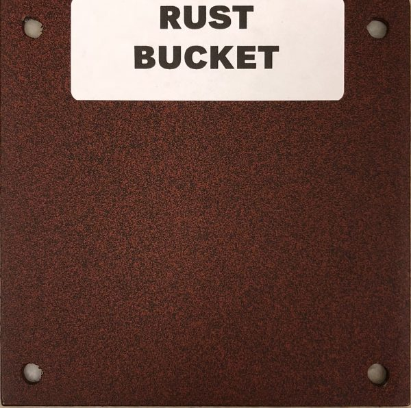 NEW RUST BUCKET
