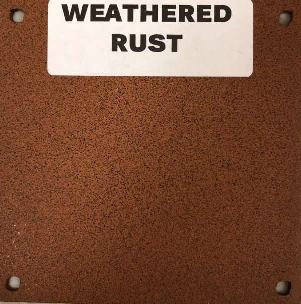 NEW WEATHERED RUST