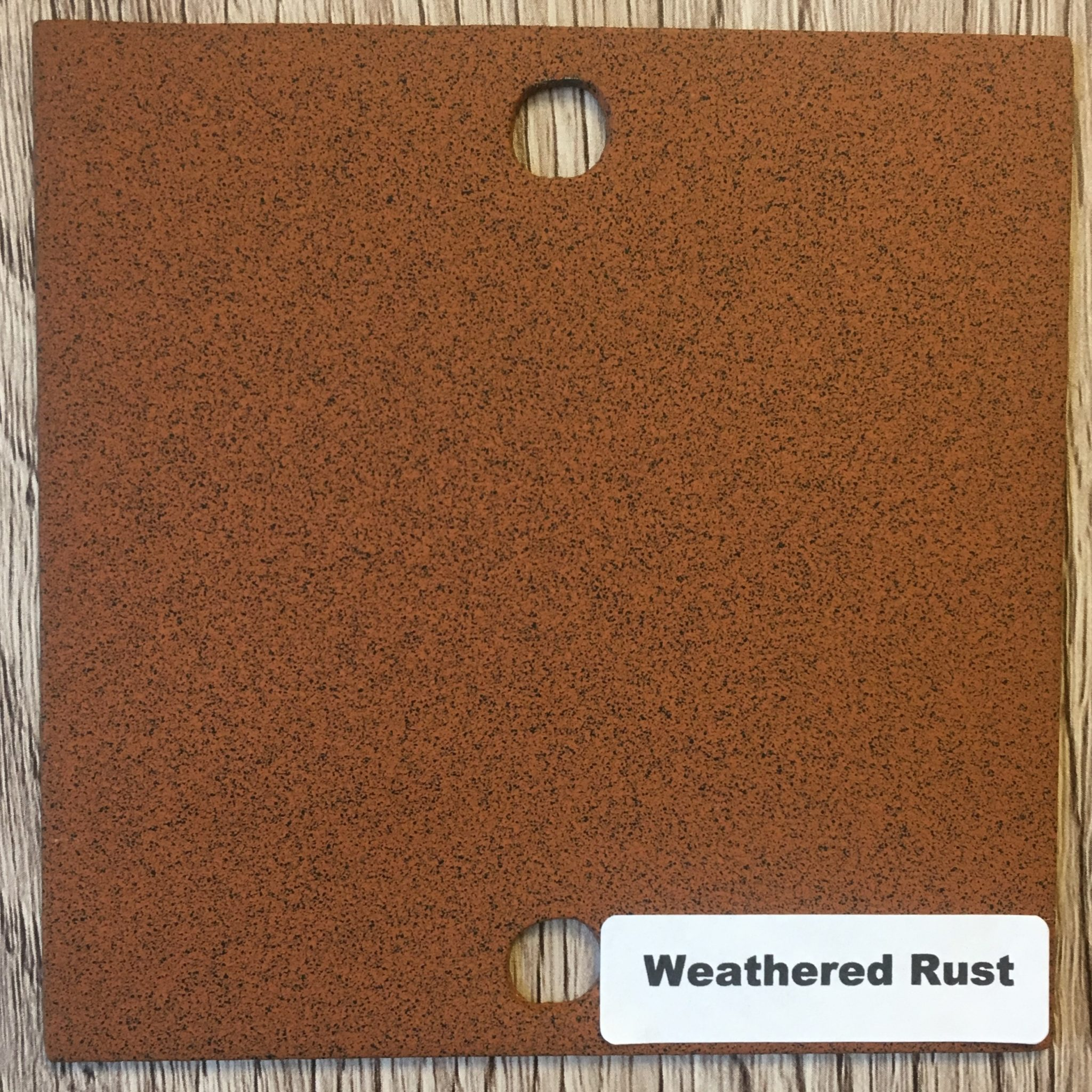 NEW - WEATHERED RUST