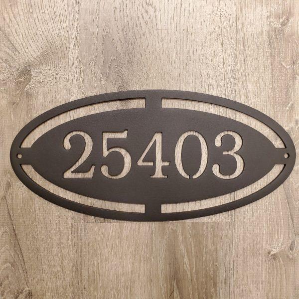 custom sign, outdoor plaque, address plaque, address sign, jimmy don holmes, metal art, fixer upper artist, magnolia market, jdh iron designs, metal art