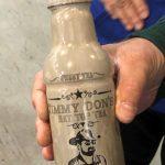 Jimmy Don's Hat Top Tea Bottle