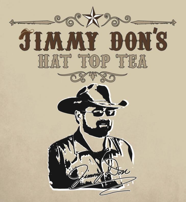 Jimmy Don's Hat Top Tea Label